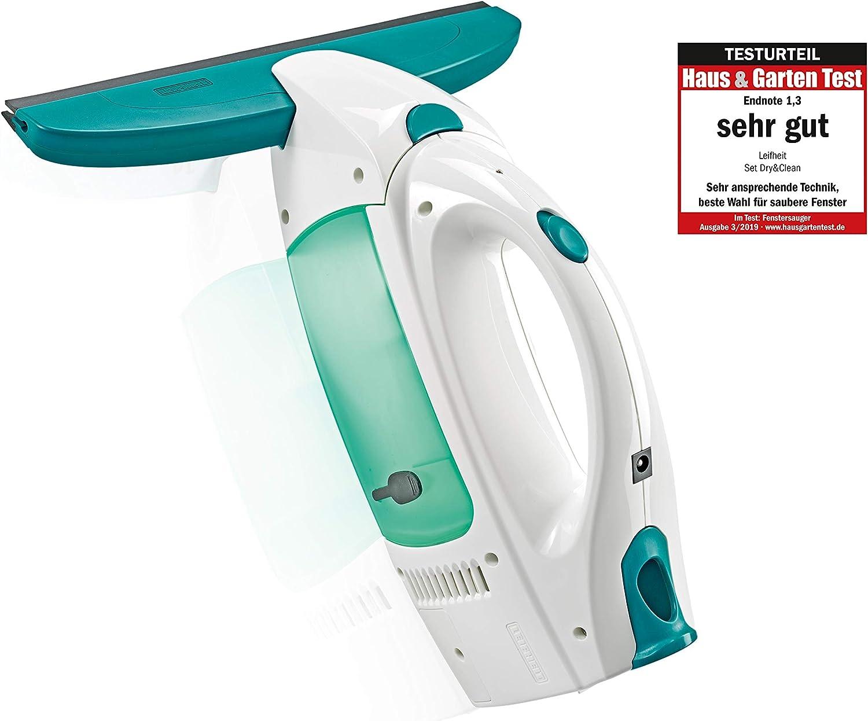 Leifheit Dry&Clean Aspirador Limpiacristales, Compuesto, Blanco y ...