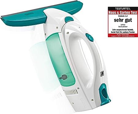 Leifheit Set aspirador limpiacristales Dry & Clean para una limpieza 360 grados sin marcas, aspiradora vertical con 35 minutos de autonomía: Amazon.es: Bricolaje y herramientas