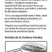 Bomann FFR 1290 CB Freidora, 6 Tenedores de Fondue, 900 W, 1 Liter ...