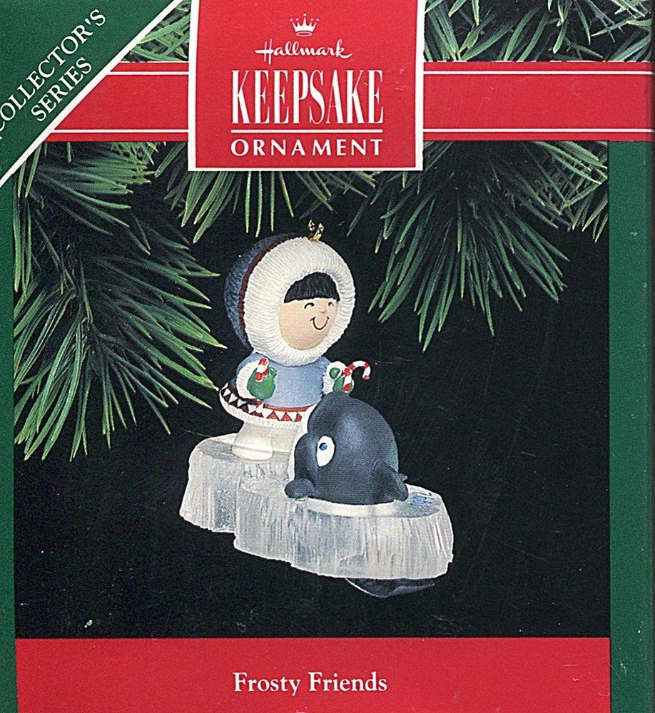 Number 13 in Series Frosty Friends 1992 Hallmark Keepsake Ornament