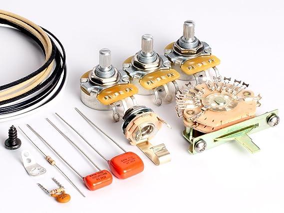ToneShaper Verkabelungsset für Gitarre Fender HSS Stratocaster ...
