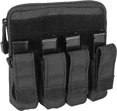 GLOCK Mag Pouch Holds 10 Pistol Magazines Genuine Gun Range Accessory Storage