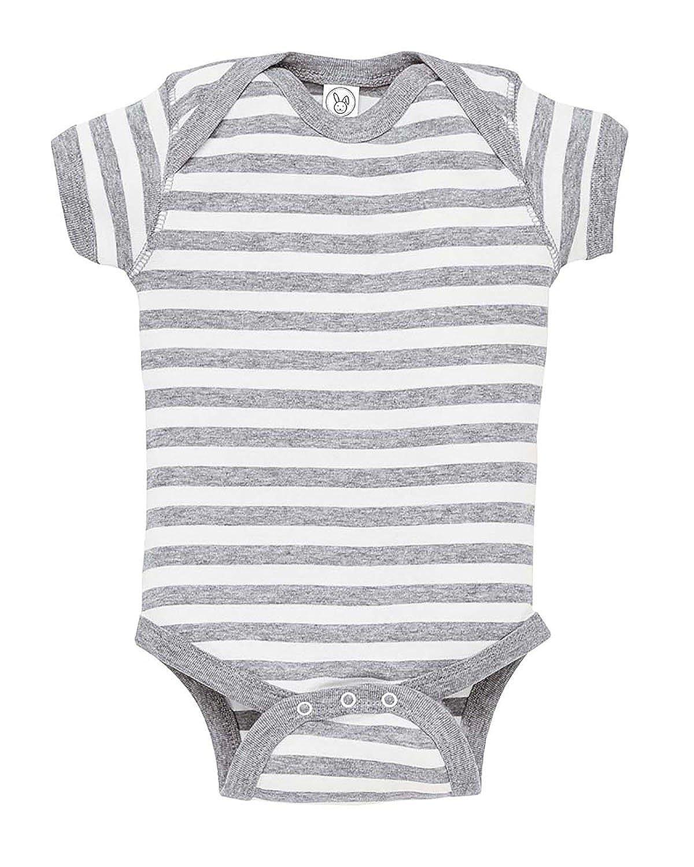 4400 Rabbit Skins Infant Baby Rib Lap-Shoulder Bodysuit
