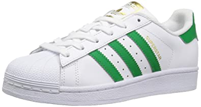 the latest d61c9 3e680 Adidas OriginalsS81017 - Superstar Mixte Enfant, Blanc  (White Fairway Metallic Gold