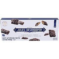 Jules Destrooper Rice Crisp Crunch, Belgian Chocolate Covered Cookies, 3.52-Ounce Box