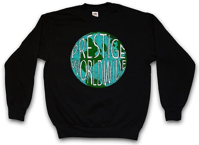 Urban Backwoods Prestige Worldwide Sudadera para Hombre Sweatshirt Pullover - Empresa Firma fábrica Consorcio Grupo Emblema Hermanos por Pelotas ...