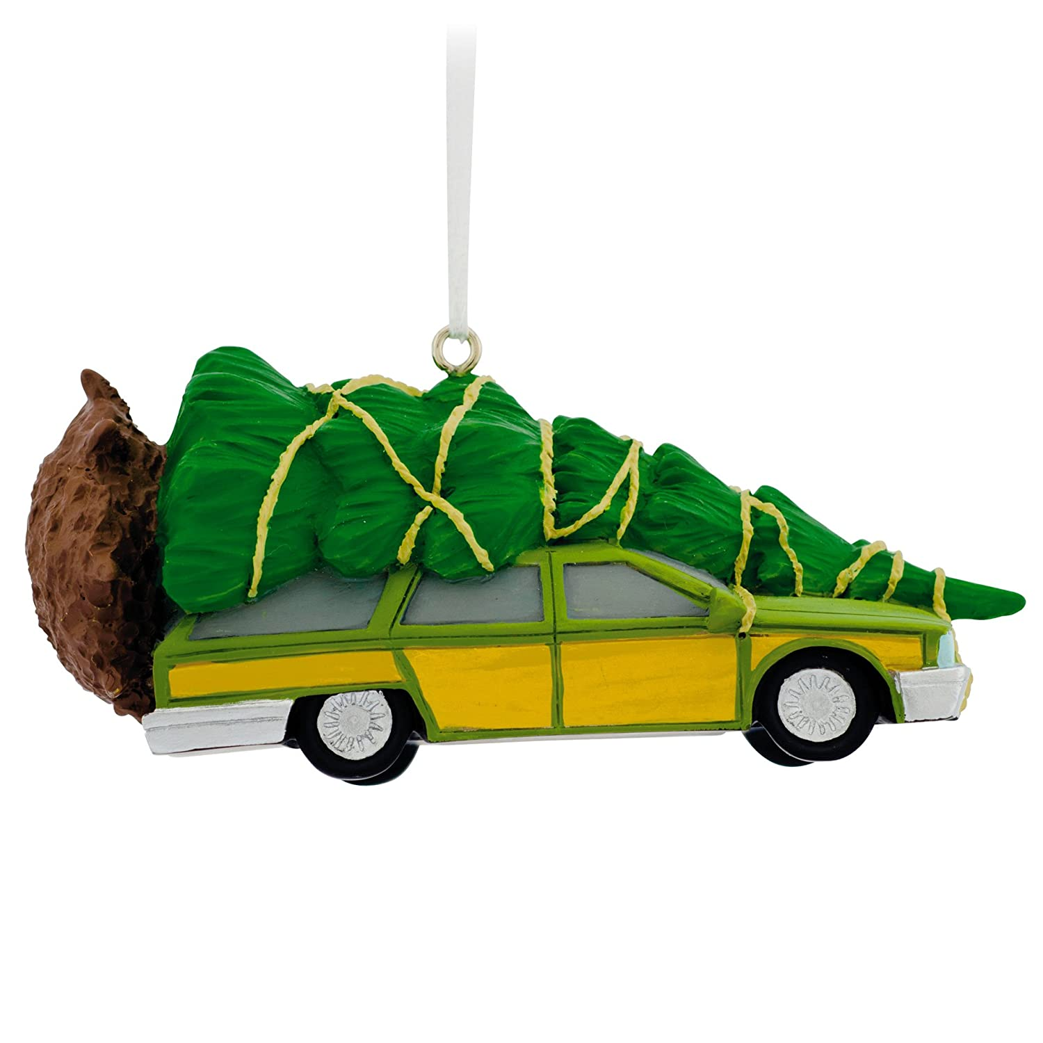 Amazon: Hallmark Christmas Vacation Station Wagon Christmas Ornament:  Home & Kitchen