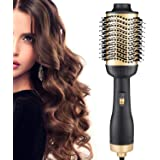 One Step Hair Dryer and Volumizer, ManKami 5 in 1 Hair Dryer Brush Hot Air Brush Comb Blow Dryer Styler Brush with Negative Ion for All Hair Types