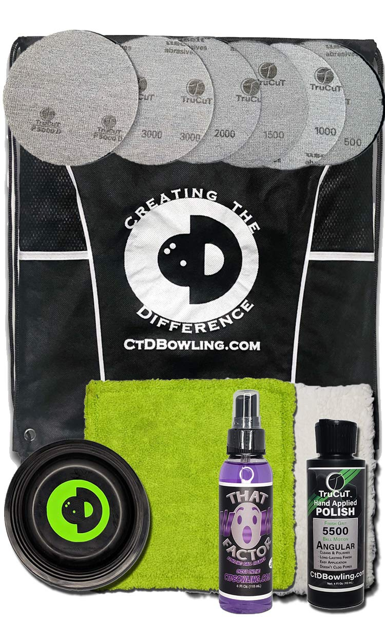 Creating the Difference TruCut More Hook Less Hook Bowling Kit by Creating the Difference