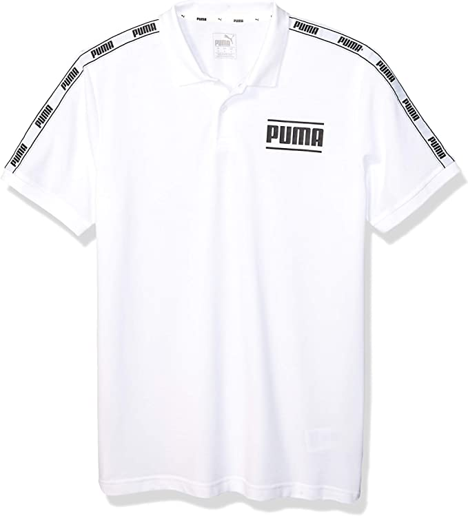 PUMA Camo Pack Tape Polo Camisa Blanco, M para Hombre: Amazon.es: Ropa y accesorios