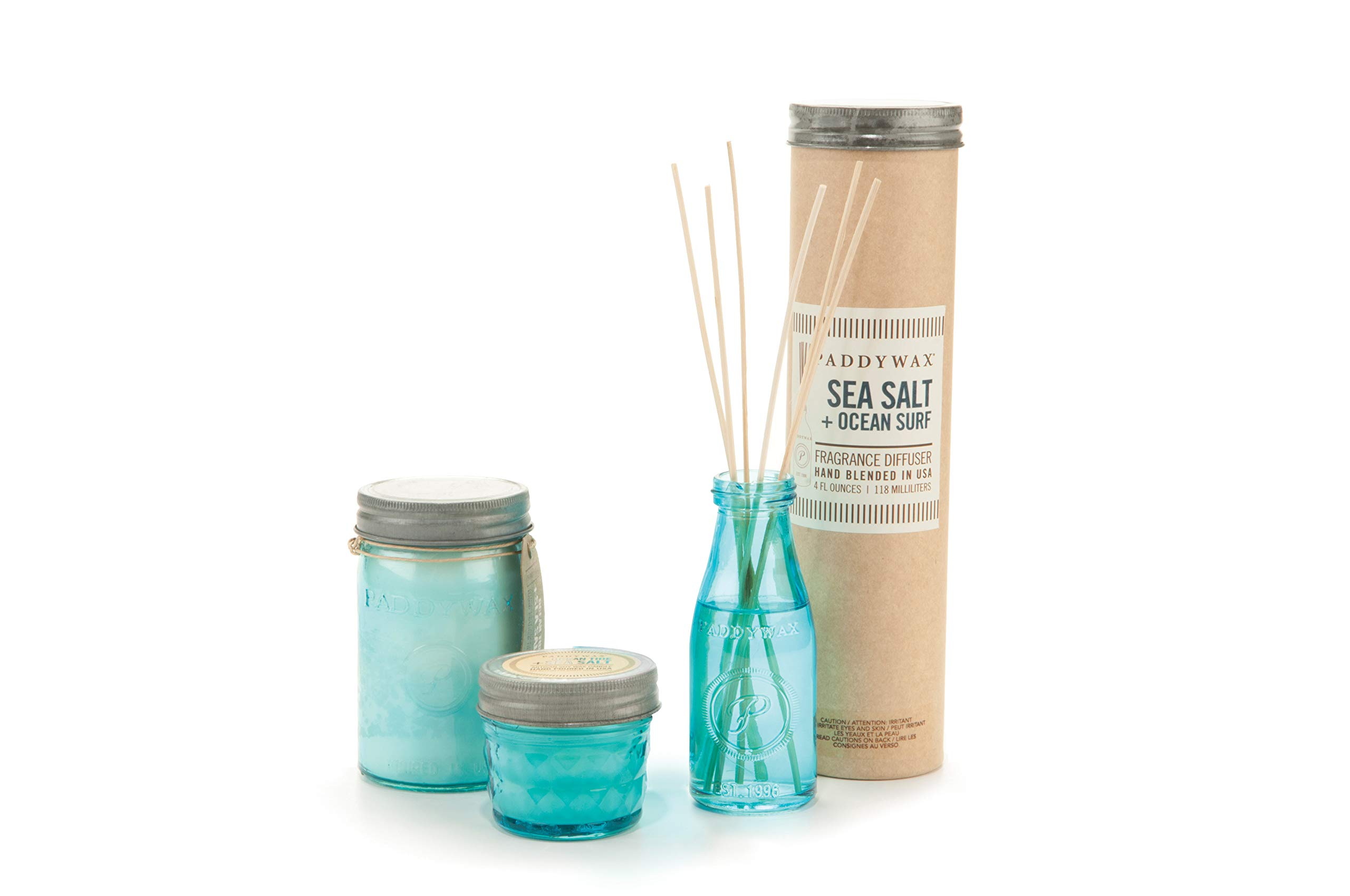 Paddywax Relish Collection Reed Oil Diffuser Set, Ocean Surf & Sea Salt by Paddywax Candles (Image #3)