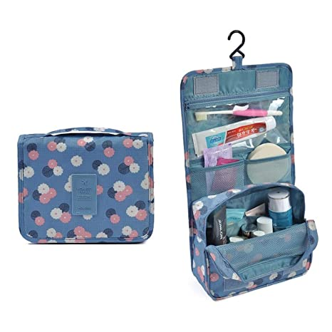 eba973264d1 Buy PETRICE Portable Hanging Toiletry Bag Travel Organizer Cosmetic Bag For  Women   Men Kit with Hanging Hook (Colour May Vary) Online at Low Prices in  ...