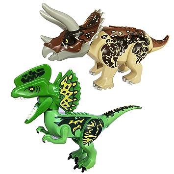 Vivid Rex Gran Dinosaurios DinosauriosTiranosaurio T Bloques Mundo EscalaConstrucción De A Rex2x Juguetes Ladrillos Jurásico OX80knwP