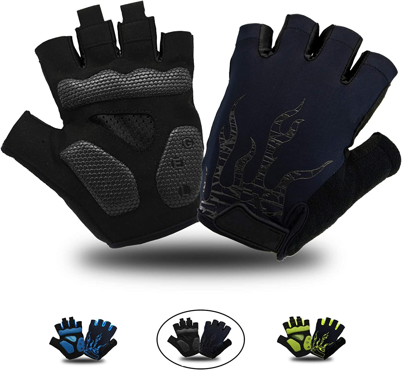 Cycling Gloves Half Finger Bike Bicycle MTB Mountain Motorbike For Men Women