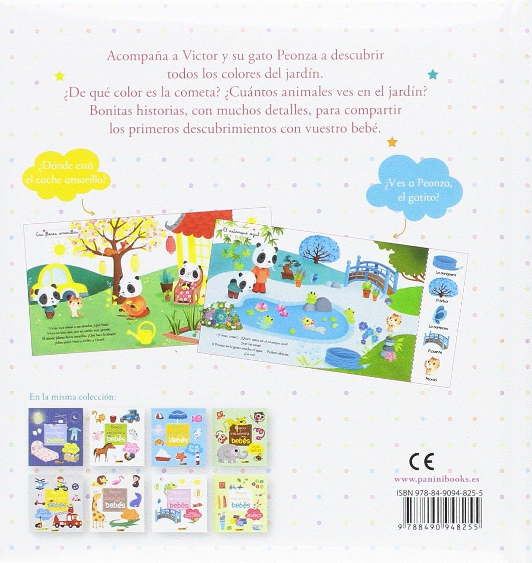 TODOS LOS COLORES-BUSCA Y ENCUENTRA CON LOS BEBES: PANINI ESPAÑA S.A.: 9788490948255: Amazon.com: Books