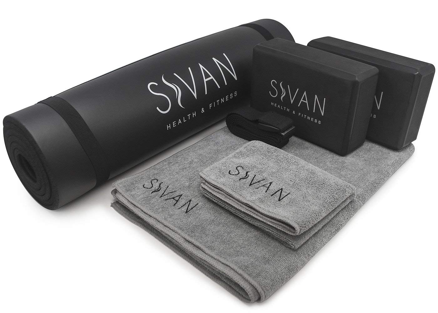 Sivan Salud y Fitness Yoga Set 6-Piece- Incluye 1/2