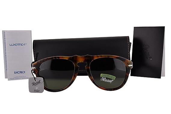 Amazon.com: Persol anteojos de sol po0649s Caffe W ...
