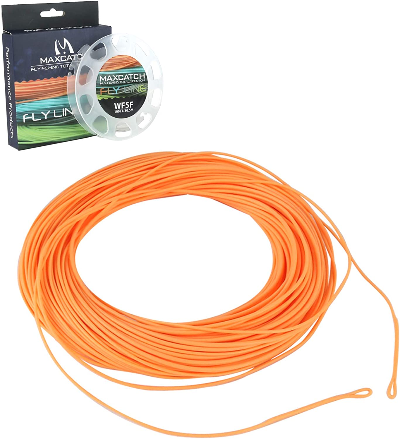 WF1//2//3//4//5//6//7//8F Trout Fly Fishing Line with Loop Weight Forward Floating Line