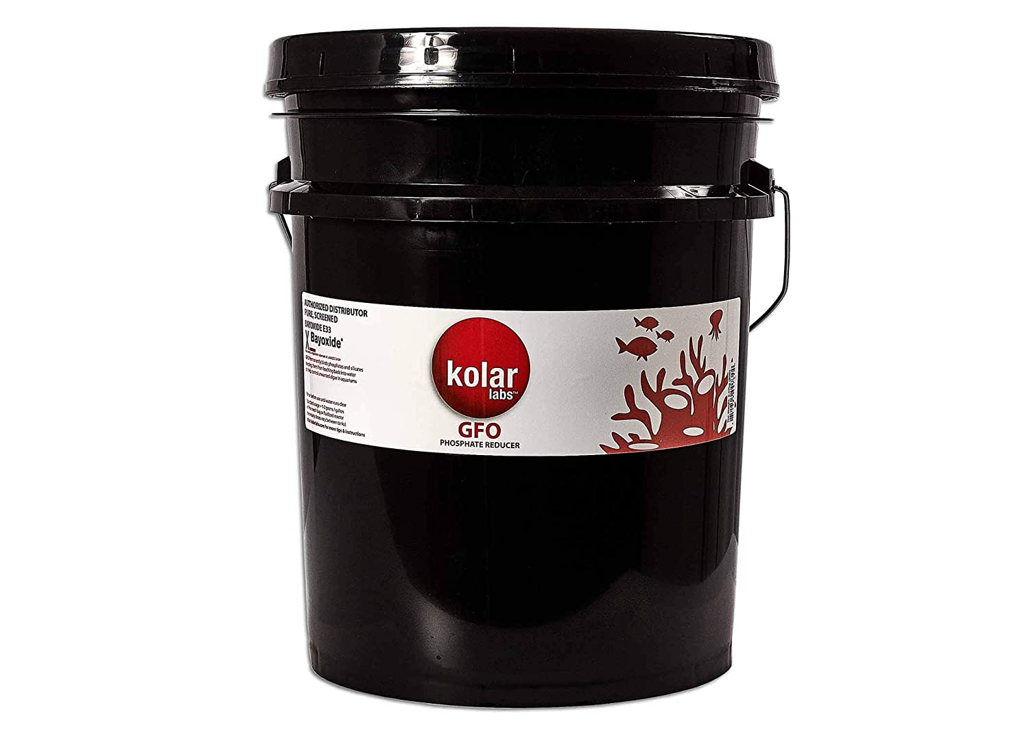 Kolar Filtration GFO 20 pounds of Bulk GFO Bayoxide E33 Phosphate & Arsenic Removal Media Aquarium Filter Algae Reducer