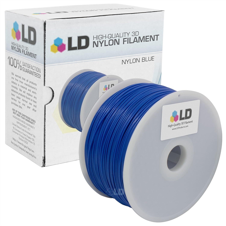 LD Azul 1,75 mm 1 kg Nylon filamento para impresoras 3d: Amazon.es ...