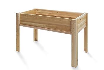 All Things Cedar Raised Garden Box With Legs, 4u0027