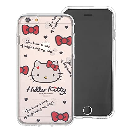 new arrival e37fa 736cf iPhone SE/iPhone 5S / iPhone 5 Case Hello Kitty Cute Clear Jelly Cover for  [ Apple iPhone SE / 5S / 5 ] Case - Icon Hello Kitty