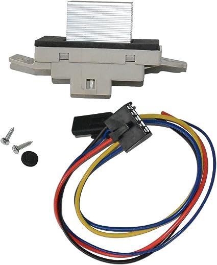 A/C Motor del ventilador Resistencia W/Enchufe para Chevrolet ...