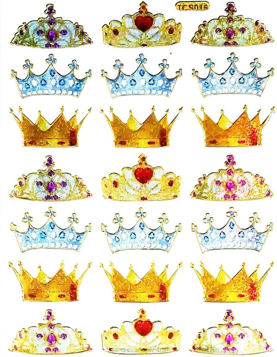 Amazon Com Nipitshop 1 Sheet Crown Imperial King Queen Cartoon Diy Wall Stickers Home Decoration Bedroom Vinly Background Wall Decals Craft Project For Children Kids Crown 001 Wall Art How to make a princess crown out of paper. nipitshop 1 sheet crown imperial king