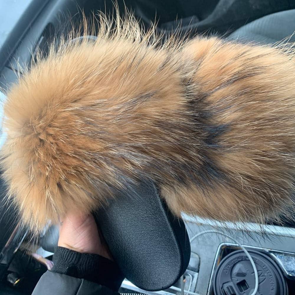Jancoco Max Womens Luxury Real Raccoon Fur Slides Slippers Furry Sliders Fashion Flat Soles Soft Summer Flip Flop Sandals