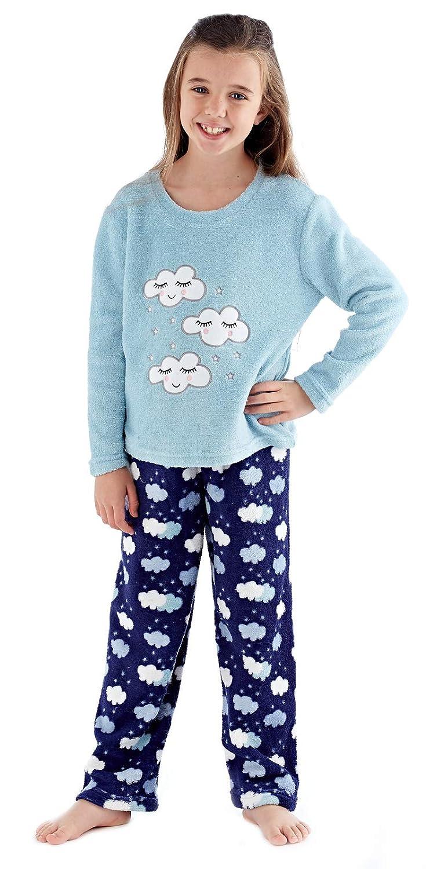 cb5fa0097bcc Lora Dora Girls Fleece Pyjamas Twosie  Amazon.co.uk  Clothing