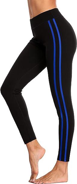 ATTRACO High Waist Yoga Capris Tummy Control Workout Running 4 Way Stretch Yoga Pants Leggings