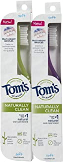 product image for Tom's of Maine Toothbrush, Soft - 2 pk
