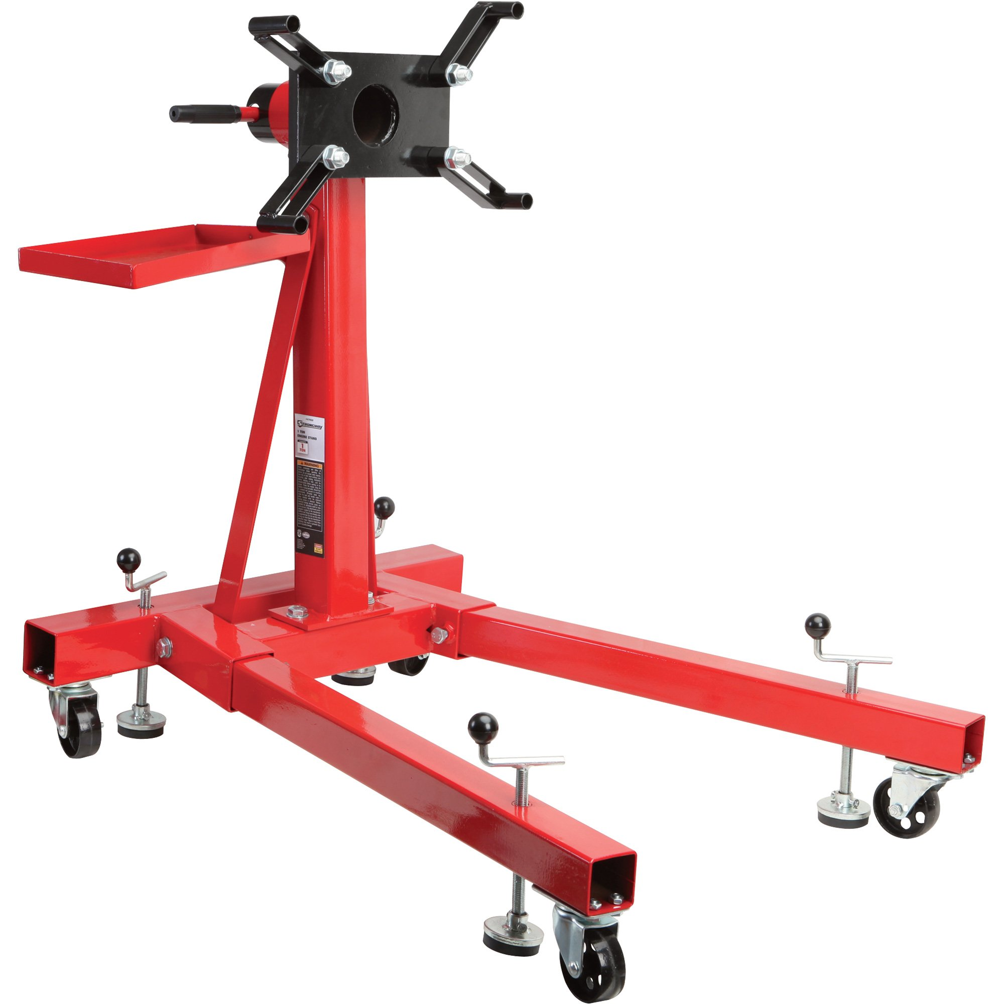 Strongway Engine Stand - 2,000-Lb. Capacity