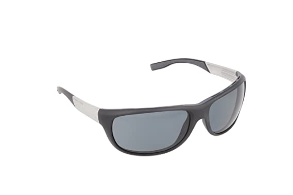 Hugo Boss Herren 0606/P/S RA MZA Sonnenbrille, Grau (Grey Palladium Orange/Polar Grey Silver Mirror), 65