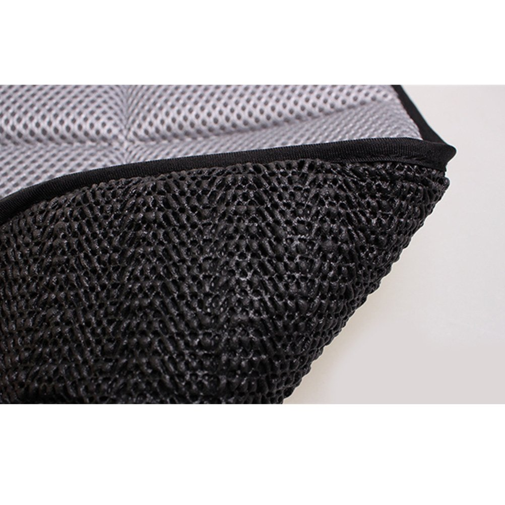 Zhhlinyuan Breathable Anti-bacteria Car Auto Office Home Seat Bamboo Charcoal Cushion Pad Mat