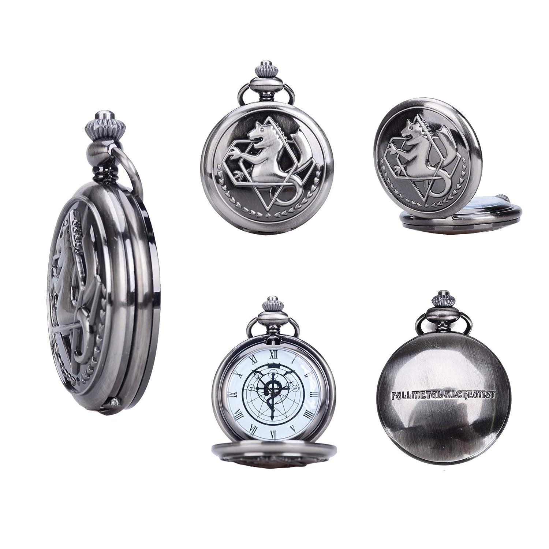 Amazon Fullmetal Alchemist Brotherhood Ed Pocket Watch