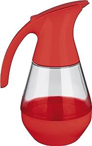 Trudeau Microwave Safe Red Syrup Dispenser