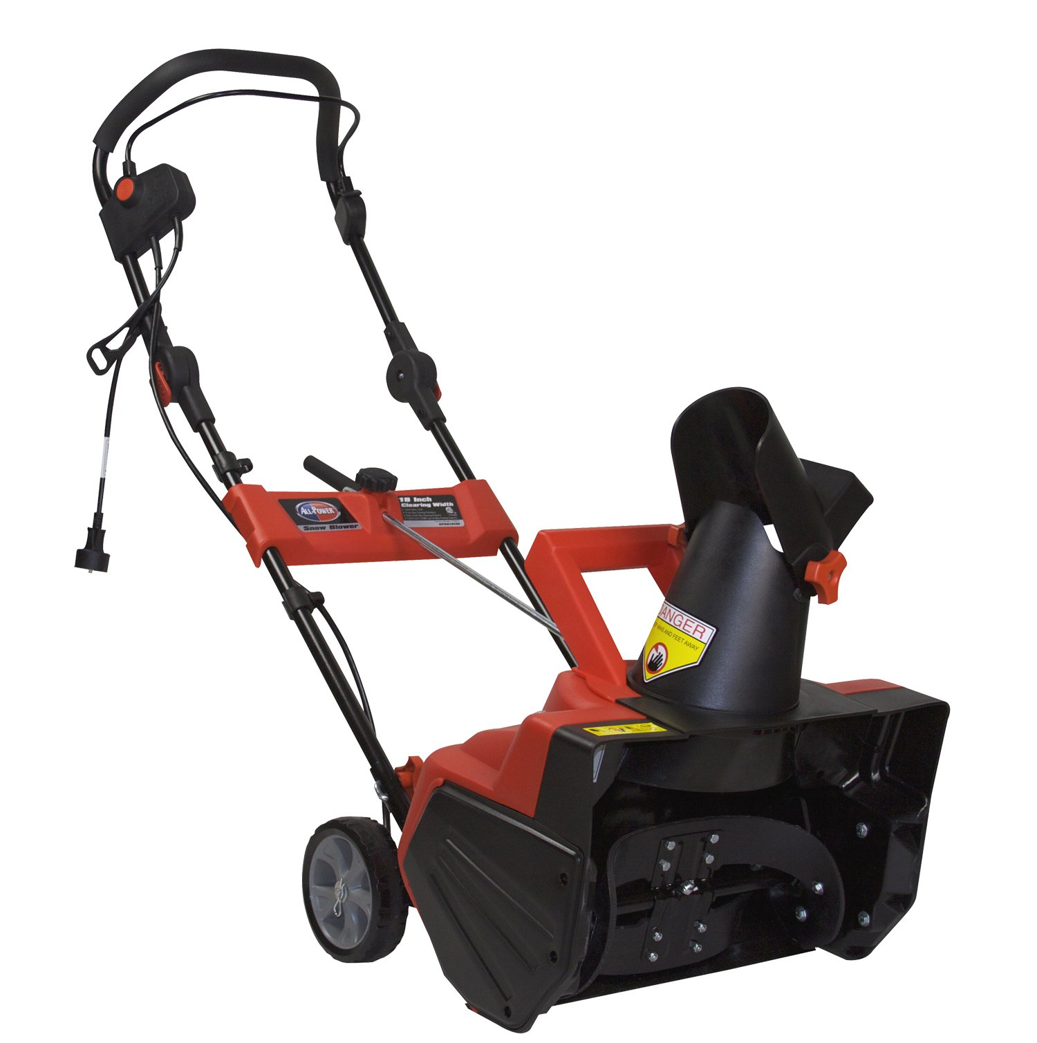 All Power America AP-SB1810E Electric Snow Blower, 18-Inch by All Power America