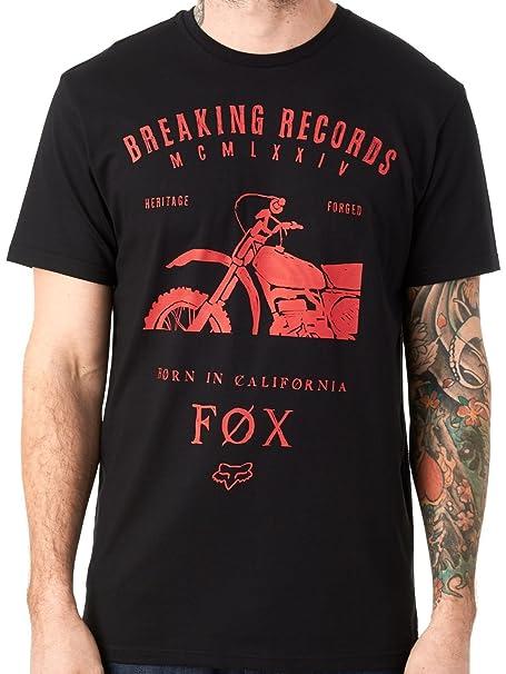 Camiseta Fox Boxed Out Negro (S , Negro)