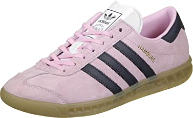 new style 46889 9558b Image Unavailable. Image not available for. Color adidas Originals Womens  Hamburg ...