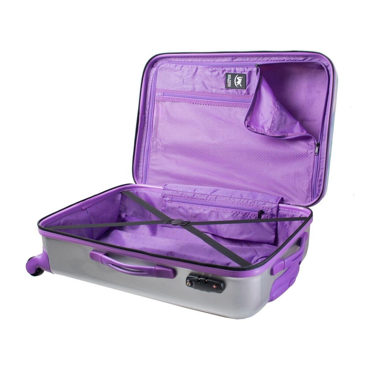 Mia Toro Izak-Paris Fashion Hard-side Spinner Luggage 3PC/Set with 10-Year Warranty--BEST GIFT for Christmas!!!!! by Mia Toro (Image #7)