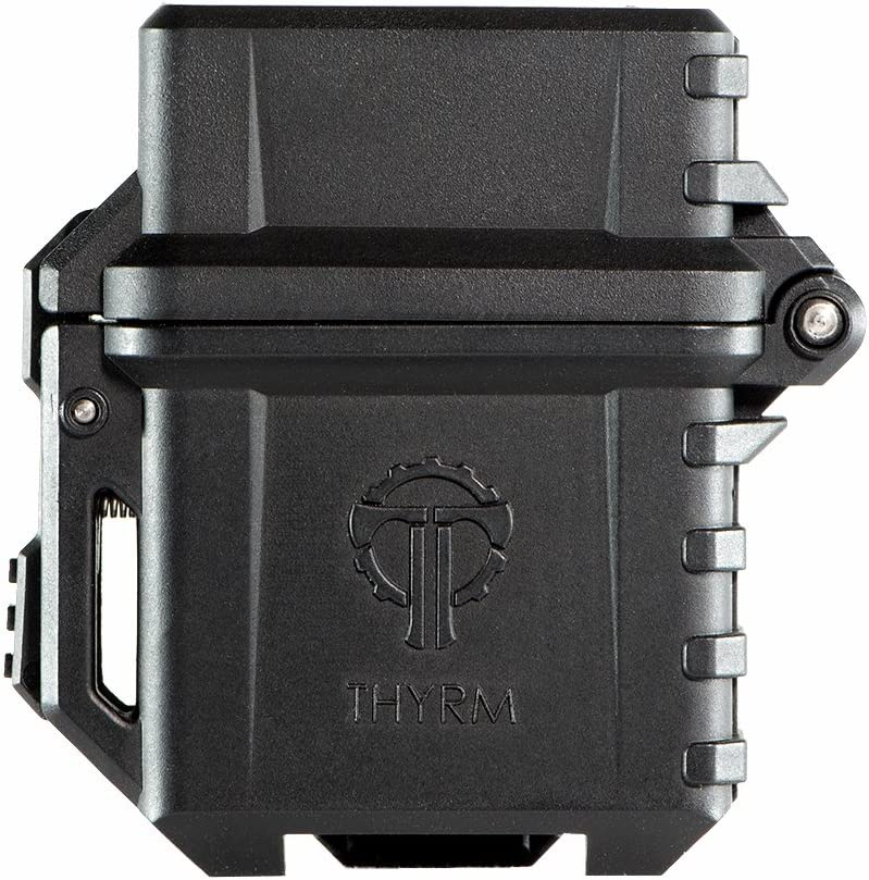 Amazon.com: Thyrm PyroVault Lighter Armor, Compatible with Zippo Classic Fluid Inserts (Black): Kitchen & Dining