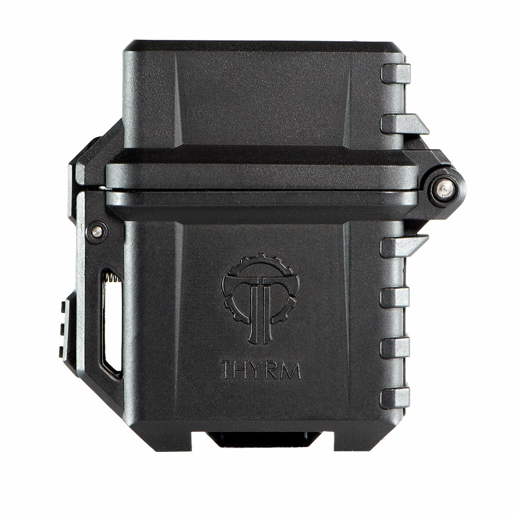 Thyrm PyroVault Lighter Armor, Compatible with Zippo Inserts (Black)