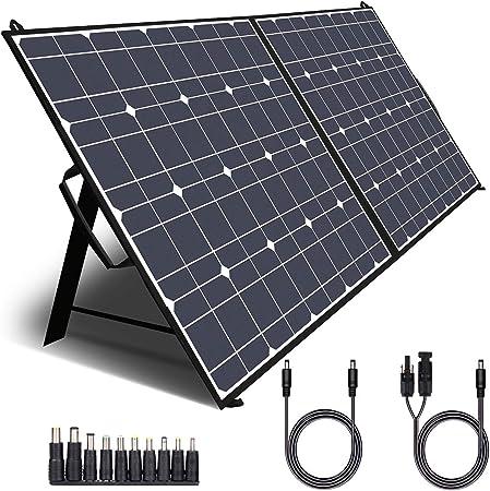 TWELSEAVAN 100W Portable Foldable Solar Panel