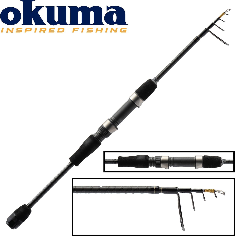 Okuma CAÑA Spinning TELESCÓPICA Null Light Range Fishing Null ...
