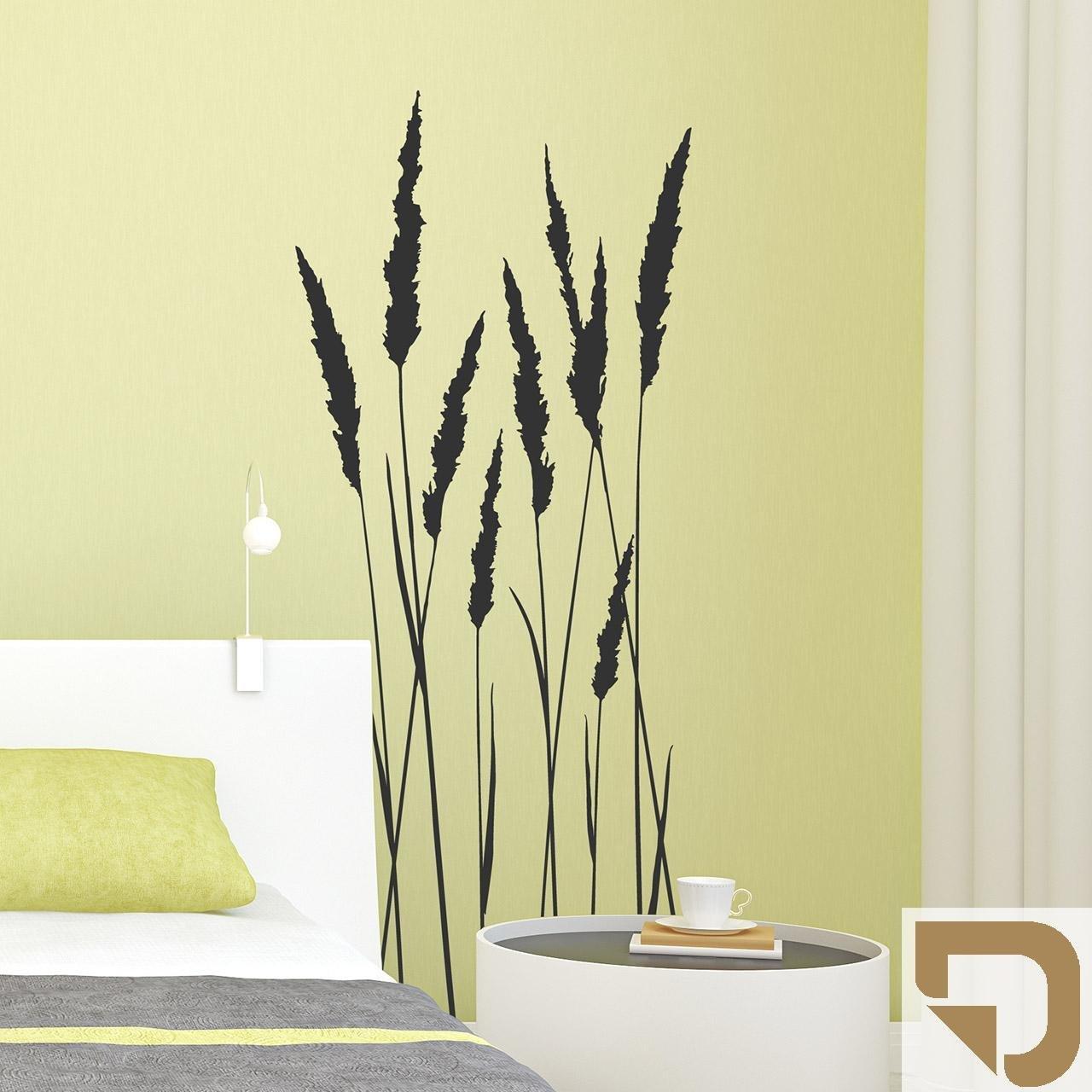 Unglaublich Wandtattoo Gräser Beste Wahl Designscape® Grashalme - Dekorative Gräser 51 X