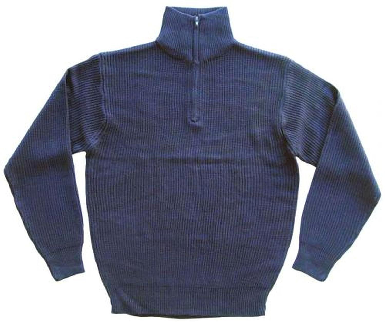 Isländer Pullover Troyer Arbeitspullover Strickpullover Marinepullover S 3XL