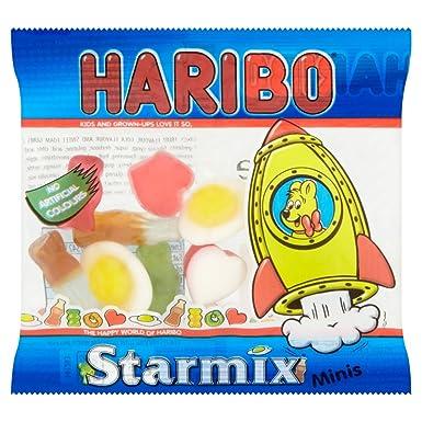 Haribo Starmix - Mini Bolsa de Gominolas Surtidas 20g (Pack ...