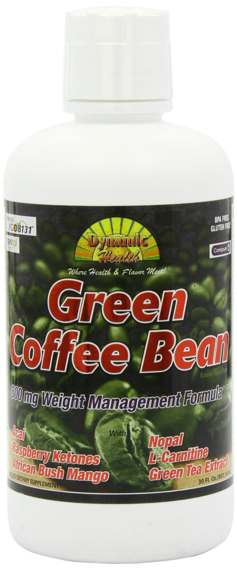 Dynamic Health Green Coffee Bean Juice Blend, 30 Fluid Ounce by Dynamic Health (Image #9)
