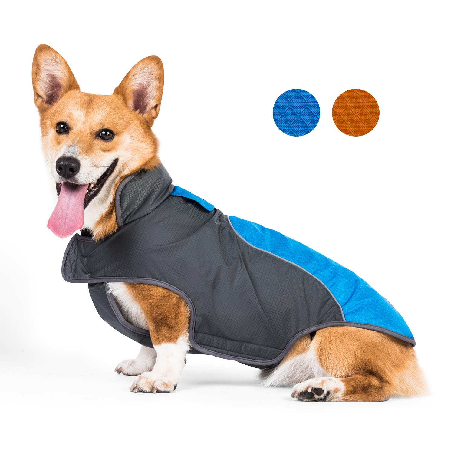 senye Dog Raincoat (L, 01-Blue) by senye